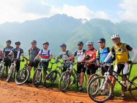 Biking to Binh Lu Valley, Sapa